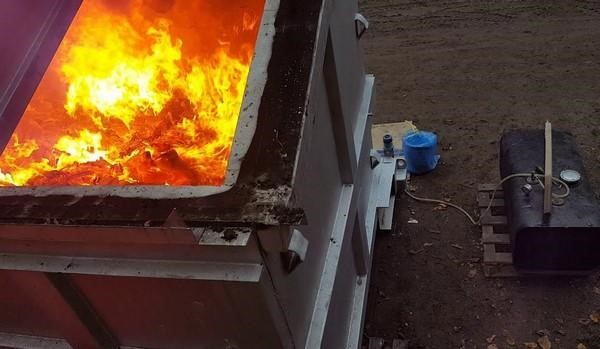 Сжигание медицинских отходов